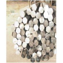 Barra hexagonal de acero sin costura de alta calidad