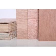 Contreplaqué commercial plaqué en bois de qualité économique