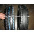 pneus de carrinho de mão e tubo 400-8