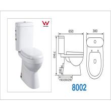 Dos piezas Washdown WC con Ce / Watermark Sertification (CVT8002)