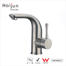 Haijun 2017 Unique Polished Brushed Thermostatic 304 Stainless Steel Basin Faucets
