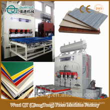 SCL/ horizontal hydraulic press machine/ cylinder heat pressure machine/short cycle laminate machine