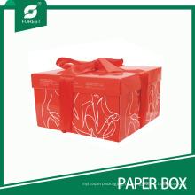 Изготовленный На Заказ Красный Куб Торт Свадебный Торт Коробки