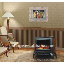 MDF Free Standing Electric Fireplace Stove