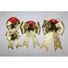 Christmas Wrapping Ribbon Bow For Decoration