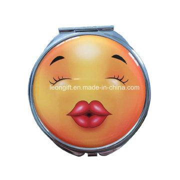 Novo Design Emoji cosmético mais barato por atacado do espelho