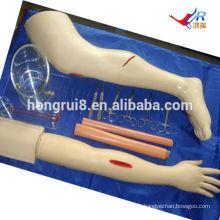 Simuladores de Treinamento de Habilidades Cirúrgicas Múltiplas ISO, Kit de Sutura Cirúrgica
