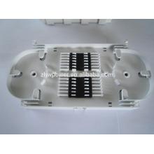 FTTH FTTX 24 Port Bac d'épissure en fibre optique 24 ports FO ABS Plastique pour fermeture de câble à fibre optique