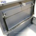Wasserdichte LKW-Bett Jobsite Metallwerkzeugkasten mit Rädern Wasserdichte LKW-Bett Jobsite Metallwerkzeugkasten mit Rädern