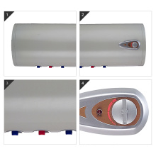 Horizontal wall mounted electric instant water heater for bath shower