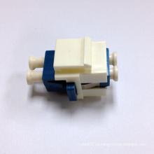 Inserción trapezoidal de fibra Snap-in con adaptador dúplex LC