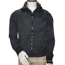 Mens Fashion High Neck Reißverschluss Bomber Coat & Jacken 2016