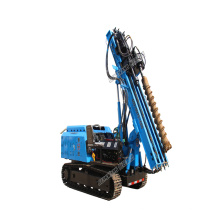 fence post pile driver  Hydraulic photovoltaic installation solar pile driver