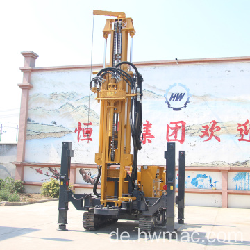 Crawler Pneumatic Water Well Drilling Rig