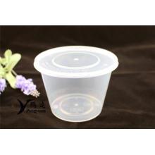 PP Kunststoff Einweg-Lebensmittel-Container Lunch-Box 900ml
