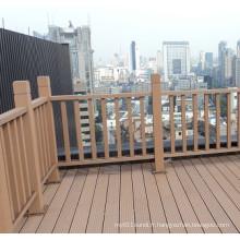 Clôture de WPC de jardin qui respecte l'environnement pour la balustrade extérieure