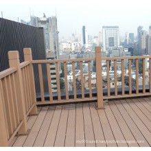 Eco-Friendly Garden WPC Fence for Outdoor Railing