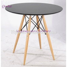 buffet dining table MDF top with beach wood legs