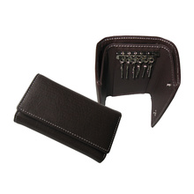 PU leather key holder, key bag for men