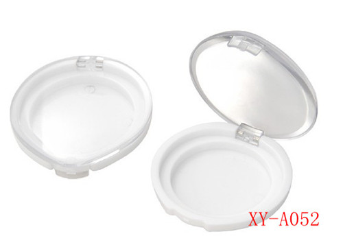 Cosmetic Round Compact Powder Container