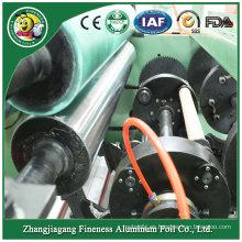 Venta caliente de alta calidad de maquinaria de corte de rollo de papel de aluminio
