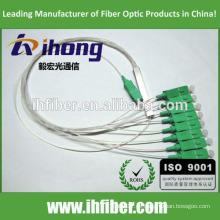 Fabrik SC / APC Singlemode Stahlrohr Faseroptik FBT Splitter
