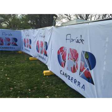 Fabric Mesh Fence Banner Signs Bungkus