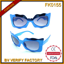 Fk0155 уникальная форма Детские солнцезащитные очки