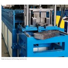 Máquina formadora de rolo para gabinete elétrico de montagem embutida