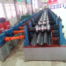 Galvanized fastway express way expressway motorway guardrail profile fence roll forming machine for guard rail for highway