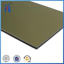 Revestimiento de pared exterior Panel de plástico compuesto de aluminio PVDF
