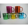 Metallic Color Canecas de café, Metallic Finish Mug