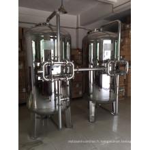 Boîtier de filtre mécanique en acier inoxydable sanitaire Chunke