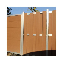 WPC Basic Fence Wood Plastic Composite Fencing with Door