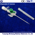 Cápsula intravenosa desechable IV / Catéter IV 18g