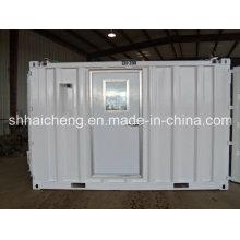 Casa pré-fabricada de aço clara do recipiente para o dormitório