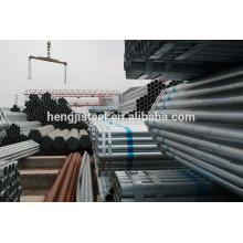 Tubulação de seção oca de aço galvanizado para construção de estrutura