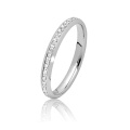 Whole Sales 925 Sterling Silver Jewelry Engagement Rings with CZ
