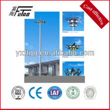galvanized steel site lighting pole