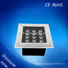 Led spot 12w impermeável IP67 luz subterrânea