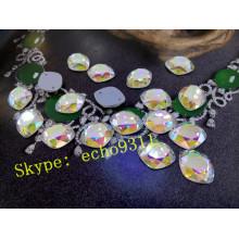 Glas Sewing Stones Crystal Nähen auf Steinen (DZ-1224)