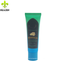 90ml plastic hair coloring ointment laminate tube with flip top cap