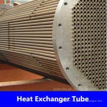 Tube d'échangeur de chaleur en acier inoxydable ASTM A249 du fournisseur de la Chine