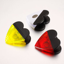 Colored Heart Shape Clip