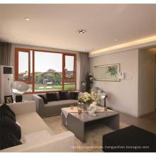 New Design of Thermal Break Window Aluminum Wood House Window