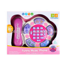 Cartoon Telephone Educational Toy for kids
