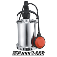 (SDL400C-33B) Stainless Steel Garden Submersible Pump for Rain Water, Sea Water, Alcohol