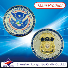 High Quality Metal Custom USA Military Challenge Coins/ Fashion Souvenir Medallion Round Gold Silver Medals Eagle /Coin Badge Replica Copy Medallions