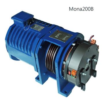 MONA200B gearless traction machine