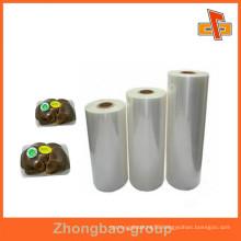 OEM manufacturers food grade food wrap strech film for vagetable,fruit,pallet packaging